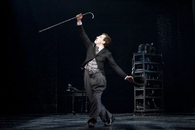 Rob McClure in CHAPLIN