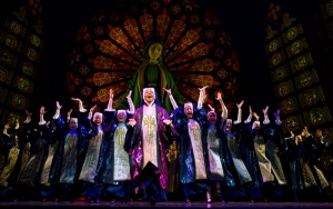 Patina Miller and the cast of SISTER ACT