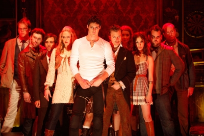 The Cast of Bloody Bloody Andrew Jackson