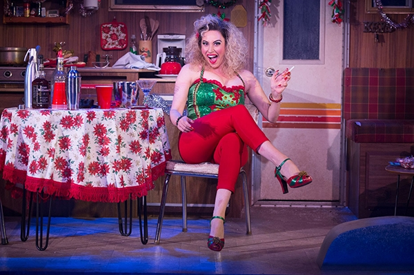 Lesli Margherita as Cindy Lou Who in WHO HOLIDAY!