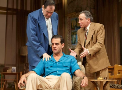 Richard Kind, Bobby Cannavale and Chip Zien (l-r)