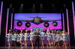 Aaron Tveit and the cast of CATCH ME IF YOU CAN