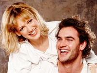 Lucy Briggs-Owen and Tom Bateman
