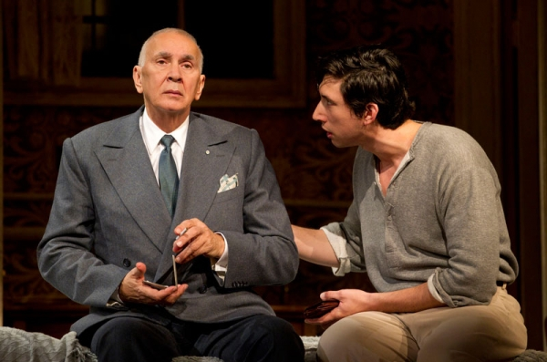 Frank Langella (l) and Adam Driver