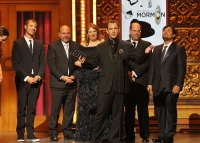 Trey Parker Accepts the 2011 Best Musical Tony Award
