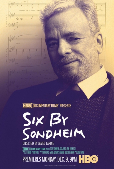 SIX BY SONDHEIM Documentary Premieres on HBO Mon, Dec 9
