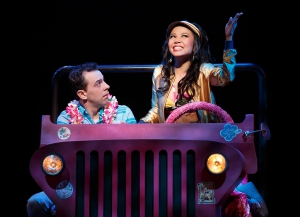 Rob McClure and Catherine Ricafort