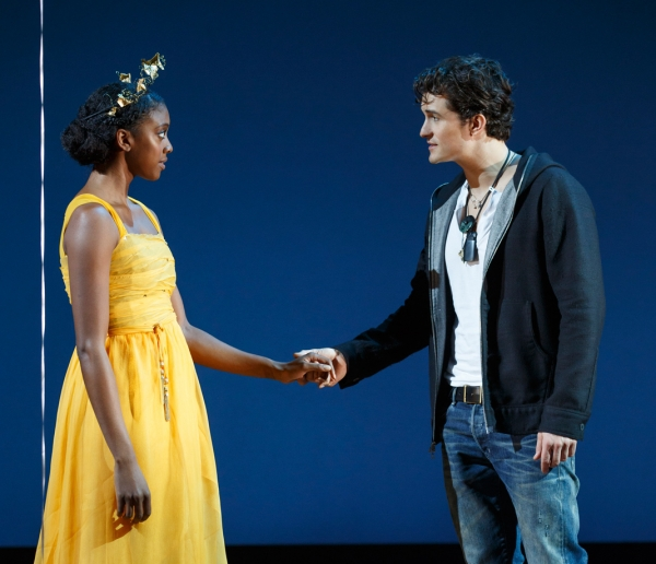 Condola Rashad and Orlando Bloom