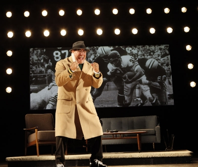 Dan Lauria as Vince Lombardi in Lombardi