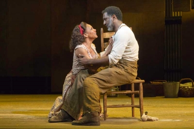Audra McDonald and Norm Lewis