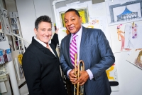 k.d. lang and Wynton Marsalis