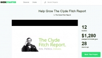 Political and Arts Blog, Clyde Fitch Report, Launches Kickstarter Campaign