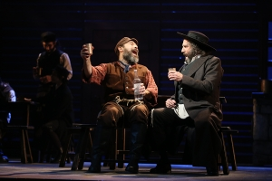 George Psomas, Danny Burstein and Adam Dannheisser