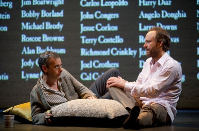 Joe Montello (l) and John Benjamin Hickey