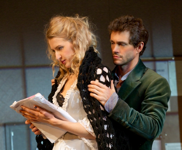 Hugh Dancy and Nina Arianda