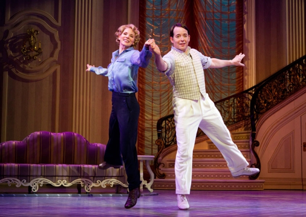 Kelli O'Hara and Matthew Broderick