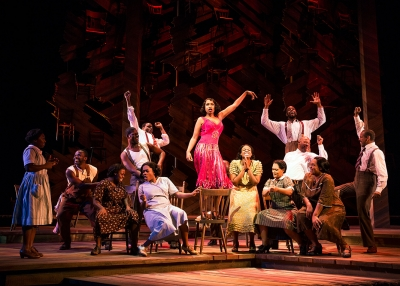 Jennifer Hudson and the Cast of THE COLOR PURPLE